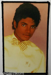 MICHAEL-JACKSON-Vintage-1980-s-Sew-On-Patch-Photo-Patch-Made-In-England-5