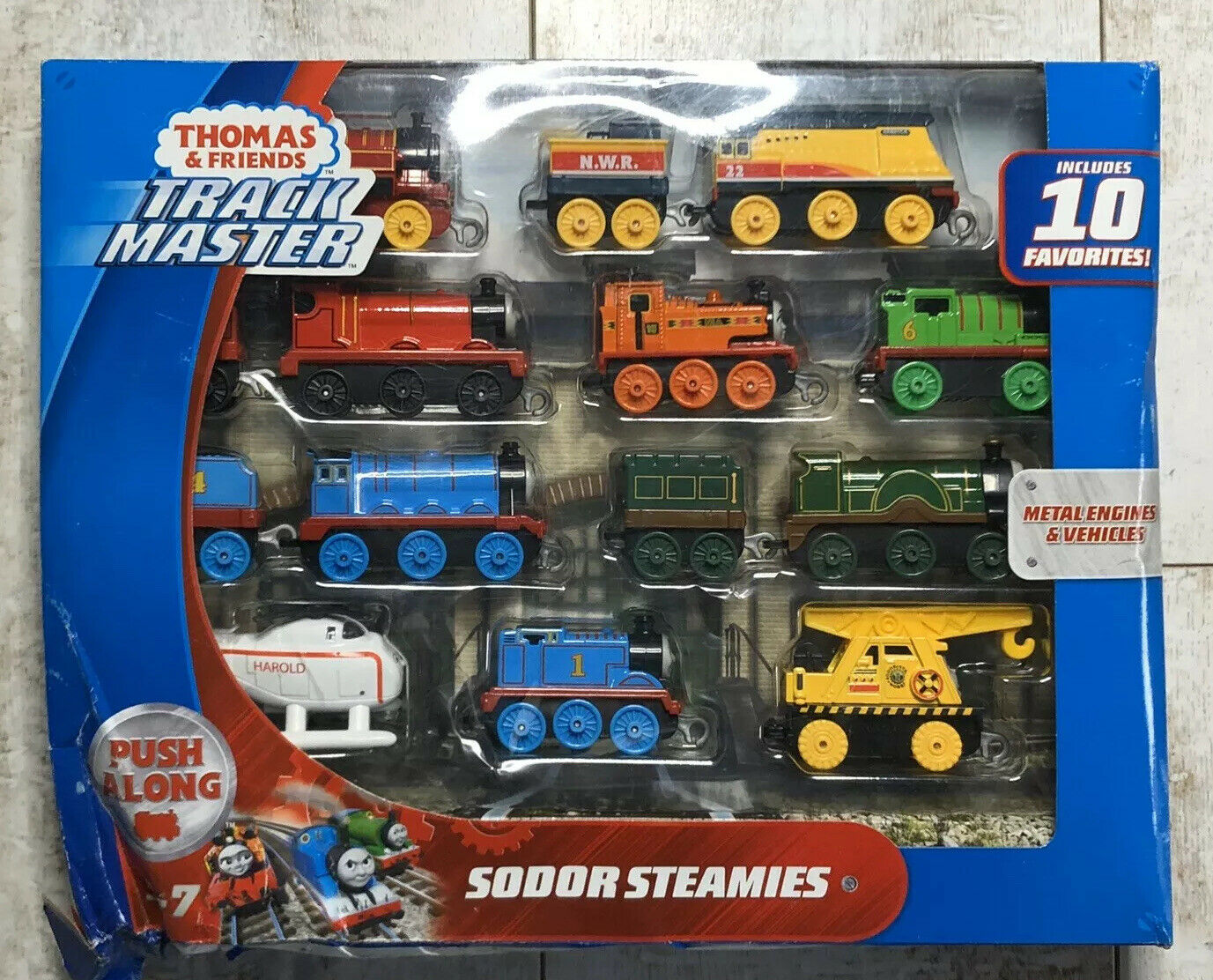 Fisher-Price  Thomas /& Friends Trackmaster Sodor Steamies