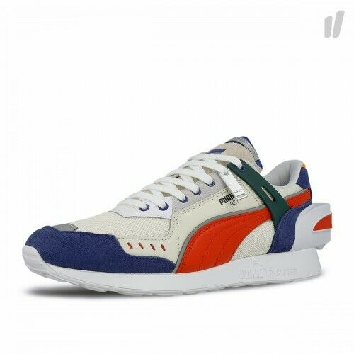 (369537-01) Men's ADER Error x Puma RS-1 bianca blu Puma rosso NEW