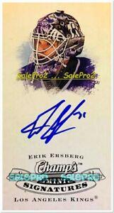 UD-CHAMP-039-S-2009-ERIK-ERSBERG-NHL-LOS-ANGELES-KINGS-GOALIE-AUTHENTIC-AUTOGRAPH