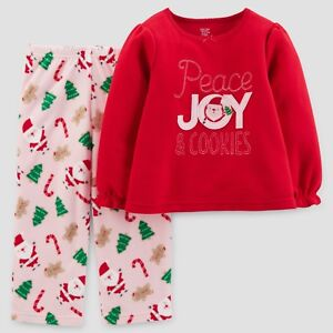 b28441789 18 month 2 piece Carters Just One you Xmas Santa outfit Fleece xmas ...