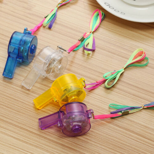 Newest Light Luminous Key Whistle Night Club Party Accessories Dolls Accessories