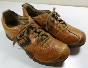 501cff860827c Details about Men's Caterpillar Brown Leather Tennis Shoes Sneakers Size 7  Cat Walking