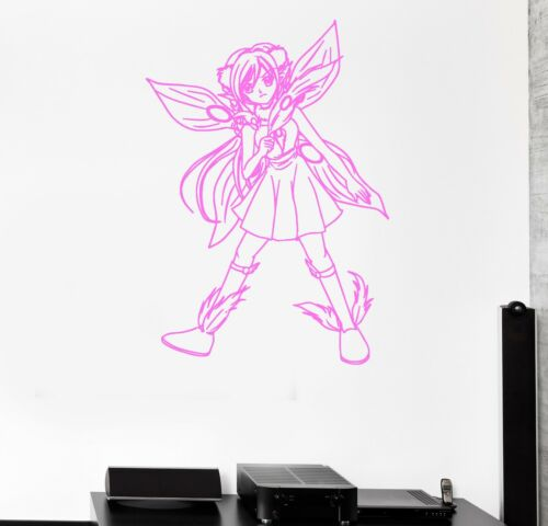 Wall Sticker Fairy Anime Manga Cartoon Kids Room Art Mural Vinyl Decal ig2009