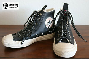 2e3056eacdee60 Image is loading Converse-CTAS-Desert-Storm-Sneakers-Leather-Black-162386C-