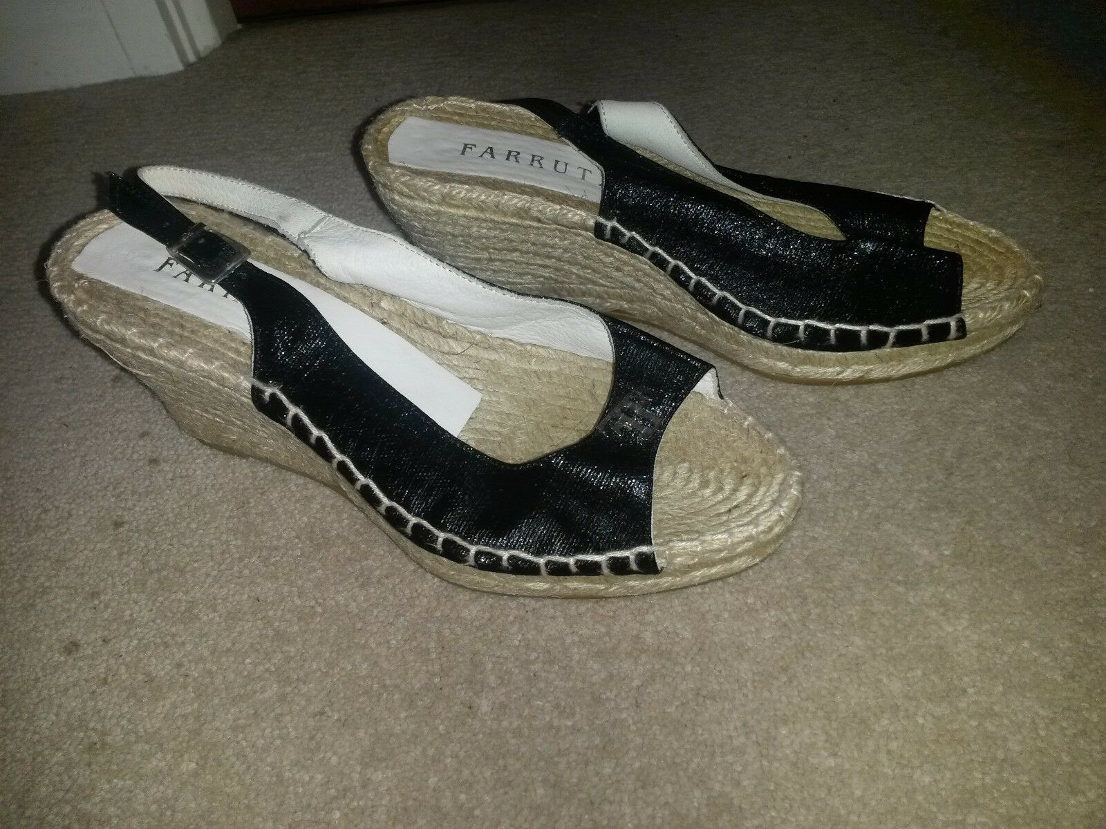 Women shoes. sandals, wedges, summer shoes. Women Size 3.5 (36 EU) 8ac0f5