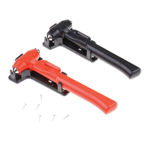 3 In 1 Safety Hammer Seat Belt Cutter Car Window Breaking Emergency Escape Tools