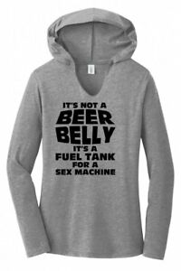 IT/'S NOT A BEER BELLY ITS A FUEL TANK VERY FUNNY white T SHIRT ALL SIZES