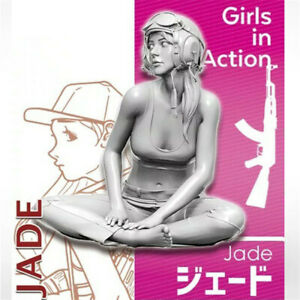 1-35-Jade-girls-in-action-Resin-Model-Kits-non-peinte-GK-non-assemble