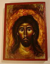 Jesus Christus Porträt Ikone Icon Christ Ikona Ikonen orthodox Icoon icone Icona