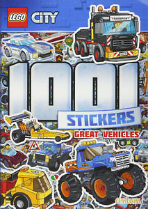 Lego-City-book-1001-Stickers-book-Paperback