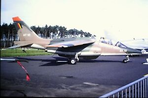 4-392-Dassault-Breguet-Dornier-Alphajet-Belgium-Air-Force-AT-12-Kodachrome-SLIDE