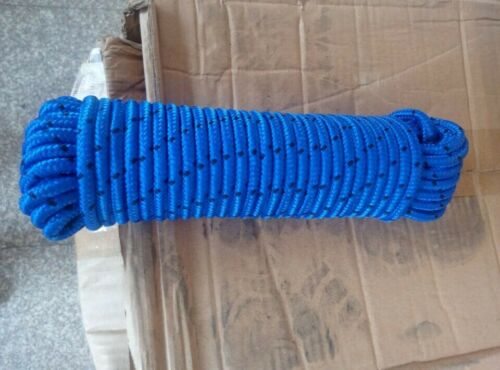 20m Multi Braided Emergency Rappelling Rock Climbing Rope Strap 2000Kg Load JS