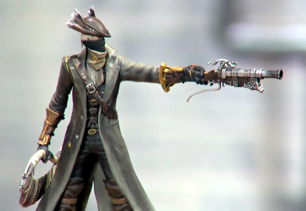 Modern Icons  5 Bloodborne Hunter Statue Figure PVC Playstation Official