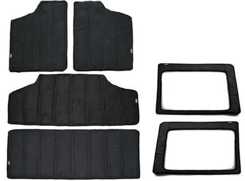 For Jeep Wrangler Rear Window /& Roof Heat Insulation Sound Deadener Cotton Kits