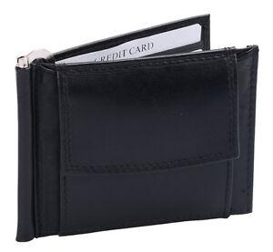 Herrengeldboerse-aus-hochwertigem-Leder-Dollar-Clip-Boerse-1481501-schwarz