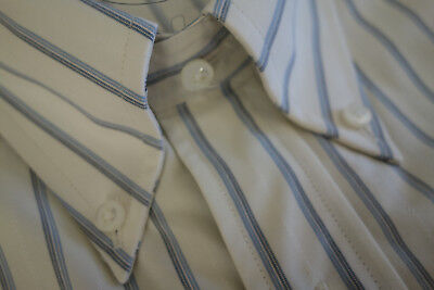 NWOT Brooks Brothers Golden Fleece Blue Stripe Button Down Regent Fit MSRP $225