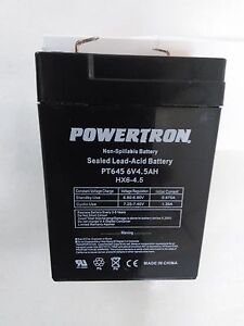 BATTERIES-COMPATIBLE-HUBBELL-BATTERY-0120255-6V-4-5-Ah-EACH