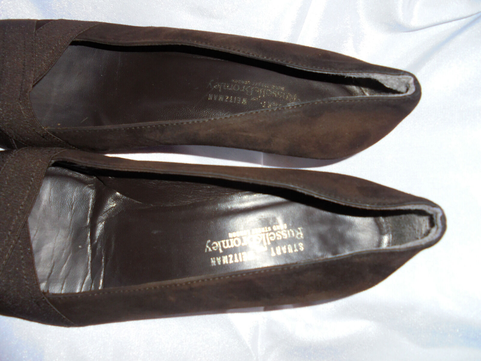 STUART WEITZMAN WOMEN GOLD GOLD WOMEN SLIP ON STRAP  BUCKLE SANDAL SIZE UK 5 EU 38 US 7.5M 4ac329