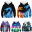 Jungen Mädchen Cat Dragon Hoodie Kapuzen Pullover Sweatshirt Kinder Tops Herbst