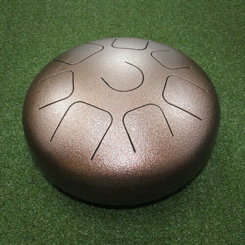 Steel Tongue Drum-12 Inch WuYou Handpan Percussion Instrument Drum W// Mallet+Bag