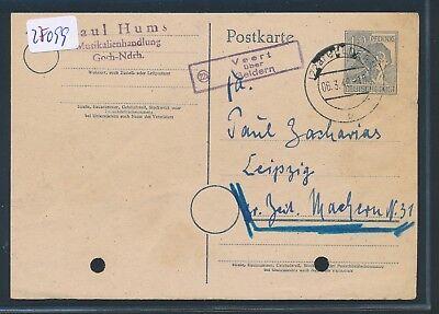 Niedrigerer Preis Mit 27099 Landpost Ra2 22a Veert über Geldern Gelochte Ga 1948