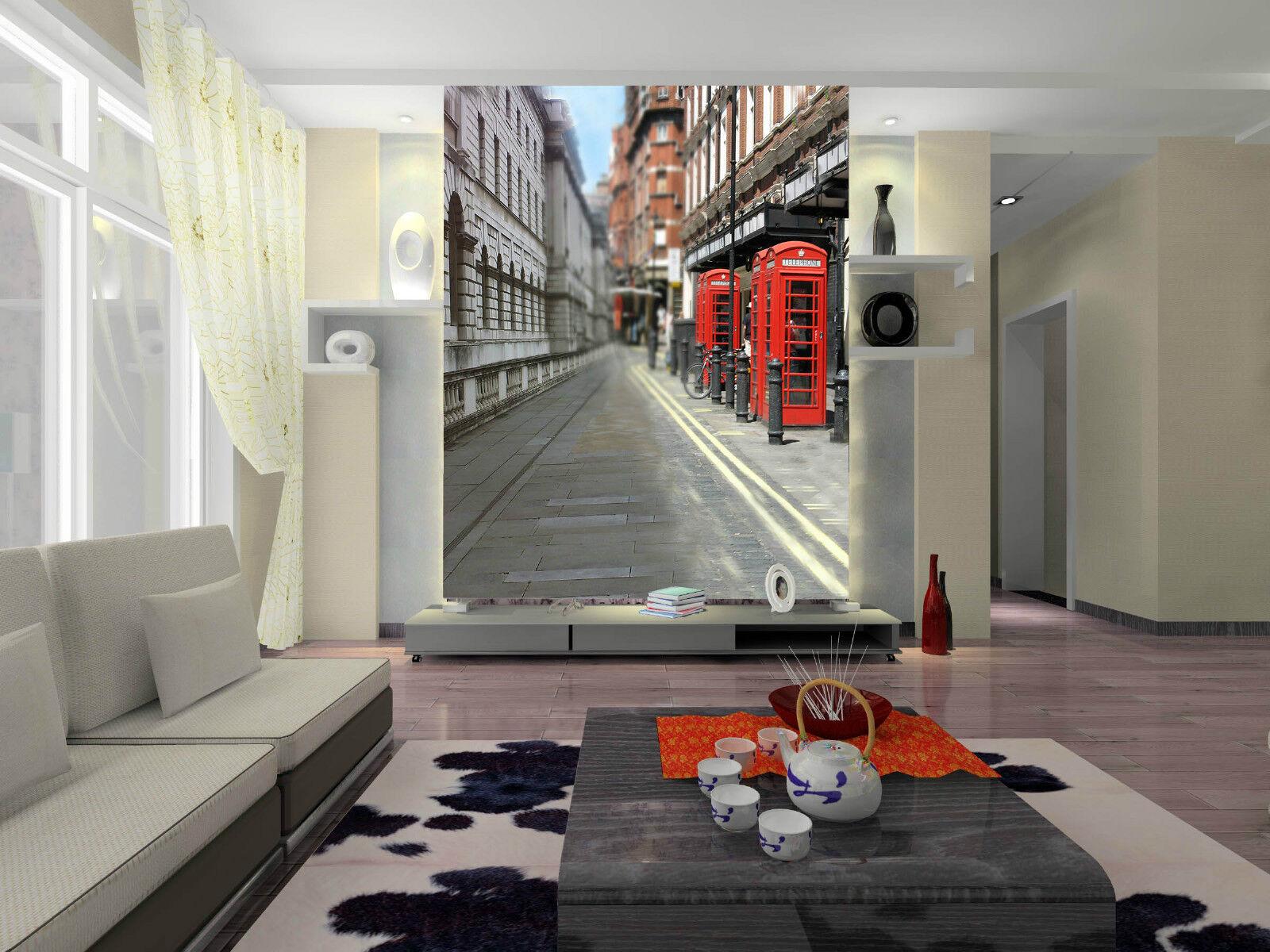 3D Die Straße 230298  Fototapeten Wandbild Fototapete BildTapete Familie DE