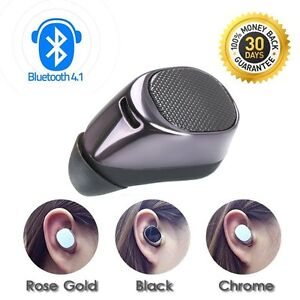 compact mini wireless bluetooth stereo in ear earphone. Black Bedroom Furniture Sets. Home Design Ideas