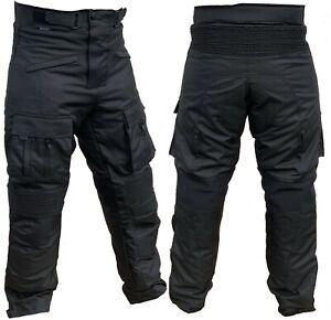 Motorradhose-mit-Protektoren-Herren-Textil-Motorrad-Hose-Roller-Groesse-S-5XL