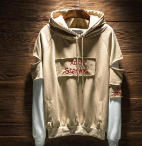 Stylish Mens Hooded Sweater Coat Hoodie Street Hip Hop Outwear Jackets Loose Fit