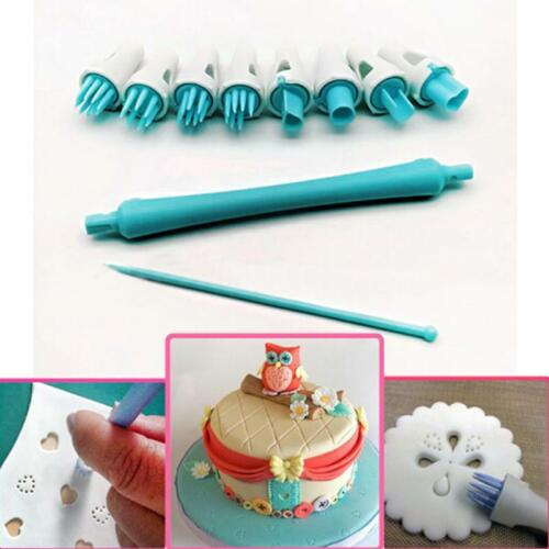 Cake Carved Pens Template Modelling Tool Biscuits Cake Molds Decoration one