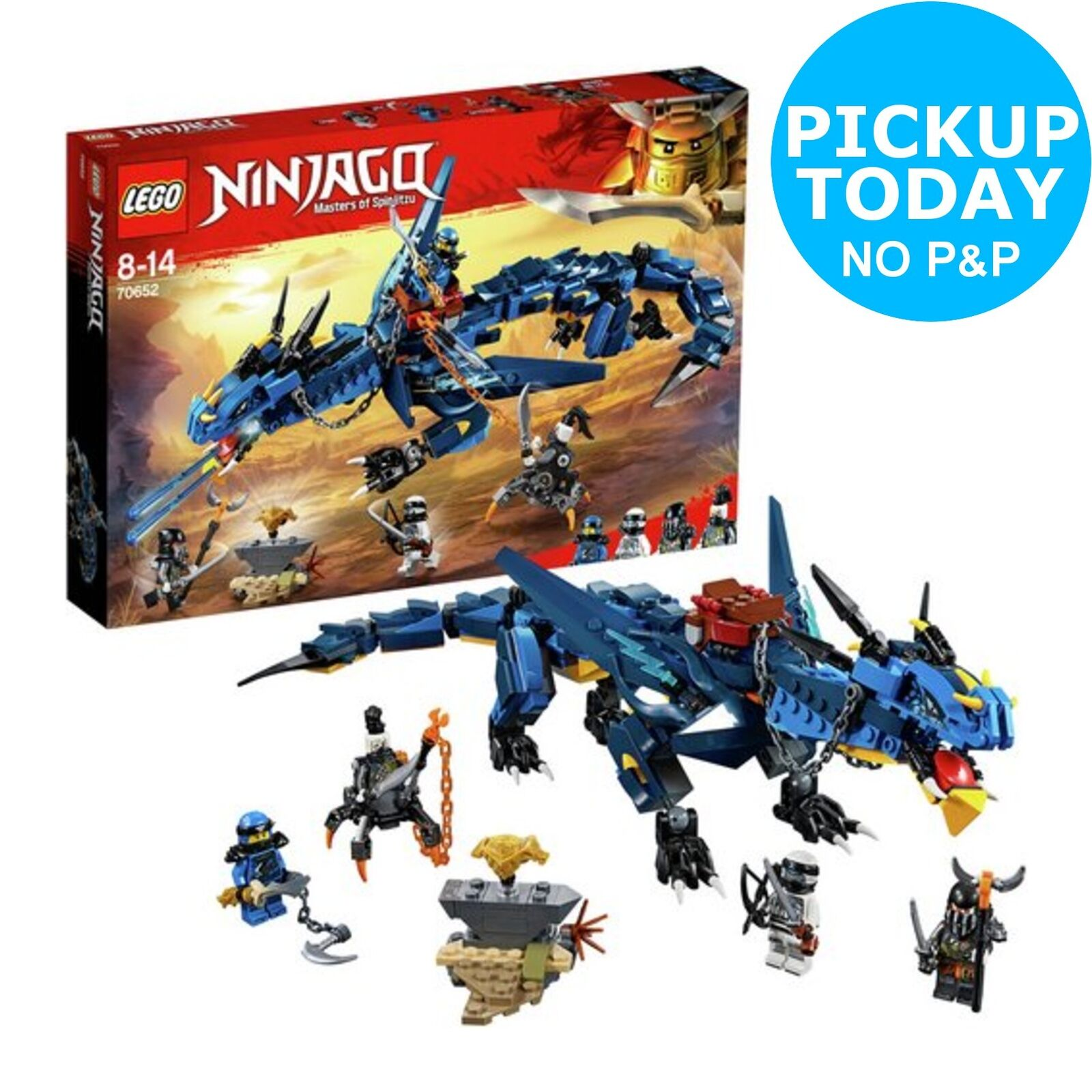 LEGO Ninjago Stormbringer Action Figure Dragon Toy - 70652