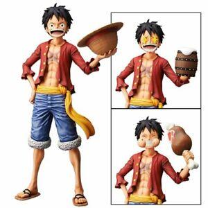 One-Piece-Anime-Nero-Monkey-D-Luffy-Banpresto-grandista-Figur-Spielzeug-Puppe-Figur