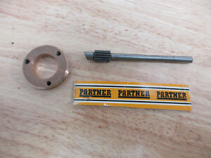 Details about NEW Genuine Partner Chainsaw P100 Oil Pump Gear P100 Super P85