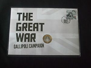 2015-THE-GREAT-WAR-GALLIPOLI-CAMPAIGN-EXTREMELY-LIMITED-PNC-only-100-issued