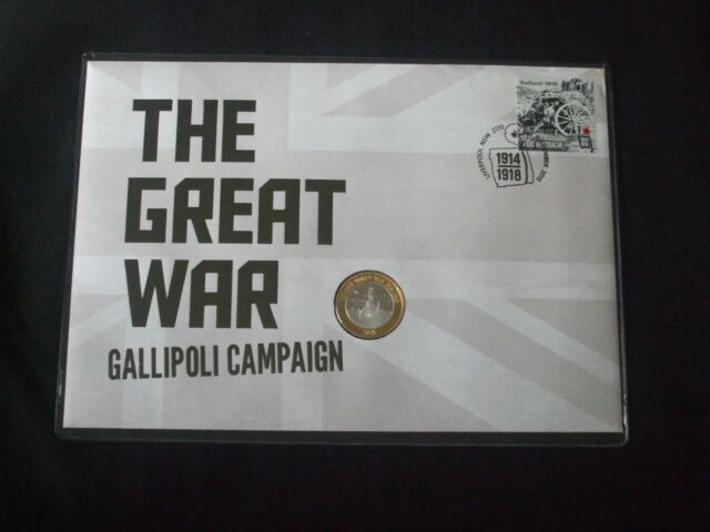 2015 THE GREAT WAR GALLIPOLI CAMPAIGN EXTREMELY LIMITED PNC-only 100 issued