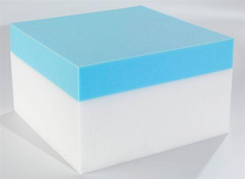 CoolBlue Memory Foam Mattress single double king super 3ft 4ft 4ft6 5ft 6ft