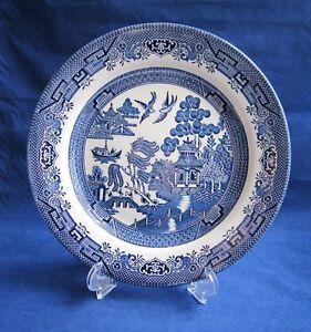 Image is loading Churchill-Blue-Willow-Dinner-Plate-10-1-4-  sc 1 st  eBay & Churchill Blue Willow Dinner Plate 10 1/4