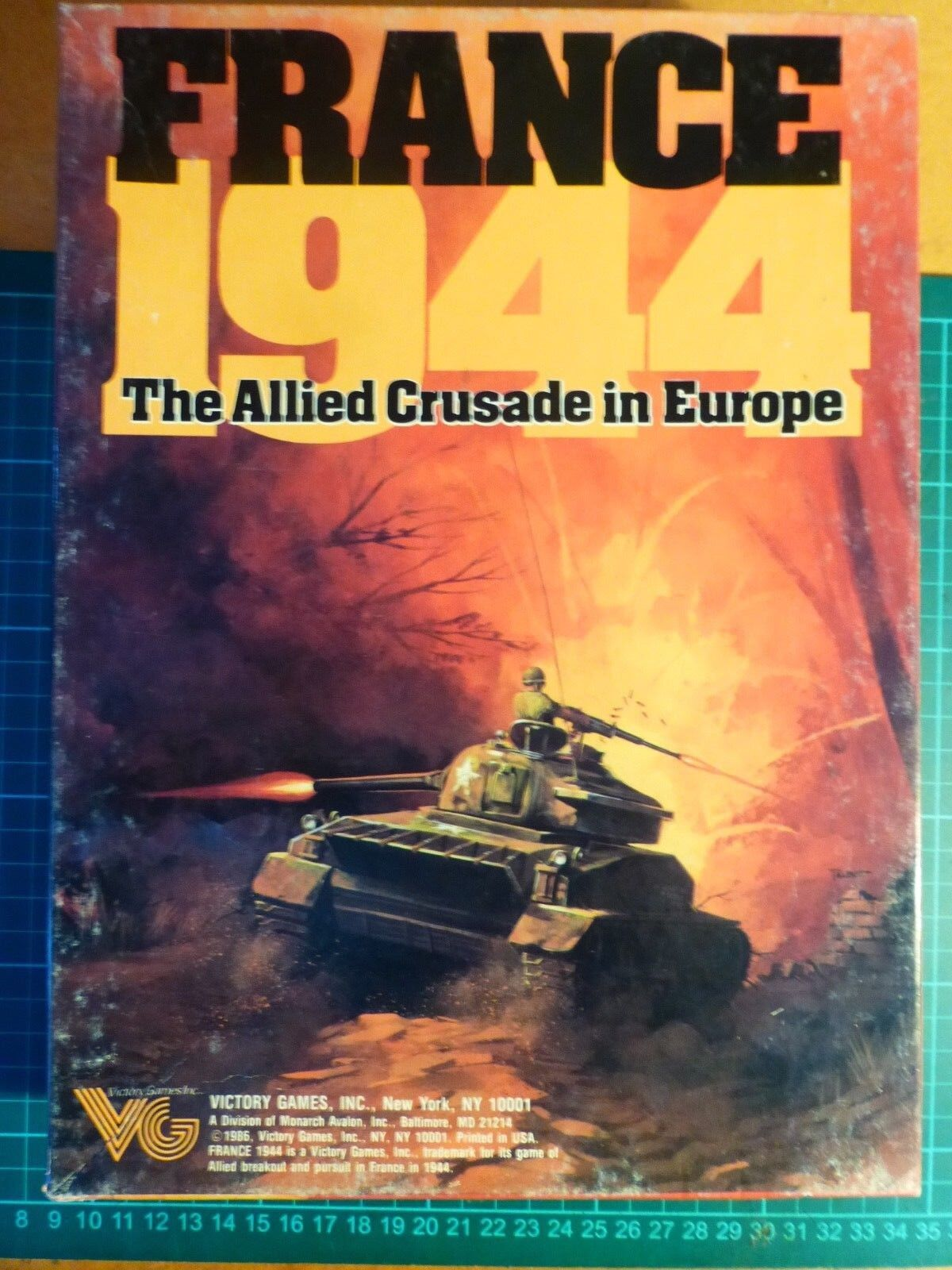 France 1940 COMPLETE & UNPUNCHED by Victory Games Subsidiary Of Avalon Hill