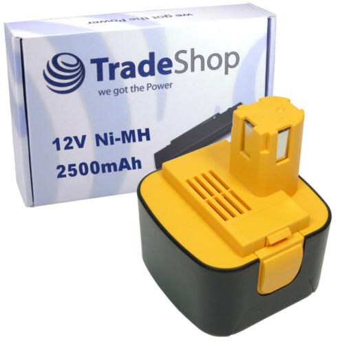 Batterie 12 V 2500 mAh NiMH Remplace Panasonic pa-1204n ey6000 ey9201 ey9201b pa1204
