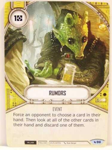 2x #096 rumors-Legacies Star Wars Destiny