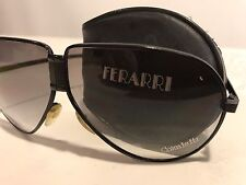 "Vintage Coca Cola ""Coke Is It"" 1980's Ferrari Folding Sunglasses with Zip Case"