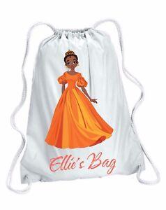 Personalised Girl/'s UNICORN Gym Pump Swim Drawstring Bag 2 colours available