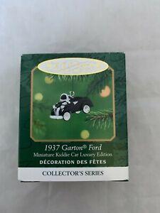 2001-Hallmark-Keepsake-1937-Garton-Ford-Kiddie-Car-Miniature-Christmas-Ornament