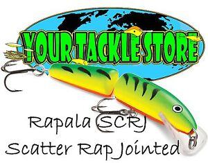 Rapala SCRJ09 Scatter Rap Jointed Pick Color & Quantity NIP