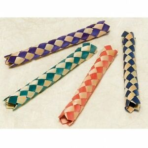 6-x-Finger-Traps-Boys-Girls-Party-Bag-Stocking-Fillers-Toys