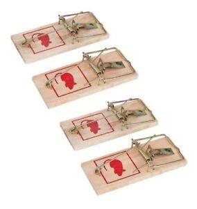 Reusable-Wooden-Mouse-Traps-Bait-Mice-Vermin-Rodent-Pest-Control-Mousetraps-Trap