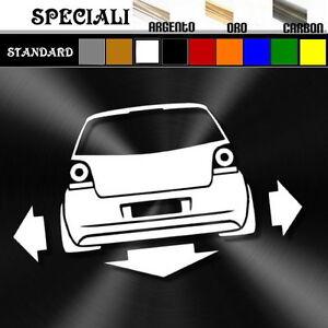 Adesivo Sticker Decal Tuning Auto Donne Musica e VW Polo