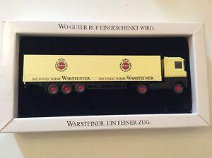 Wiking Set Renault Magnum Sattelzug Warsteiner Werbemodell HO 1/87 - Herrenberg, Deutschland - Wiking Set Renault Magnum Sattelzug Warsteiner Werbemodell HO 1/87 - Herrenberg, Deutschland