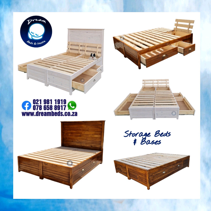 Storage Bases and Beds for sale - Quality Workmanship